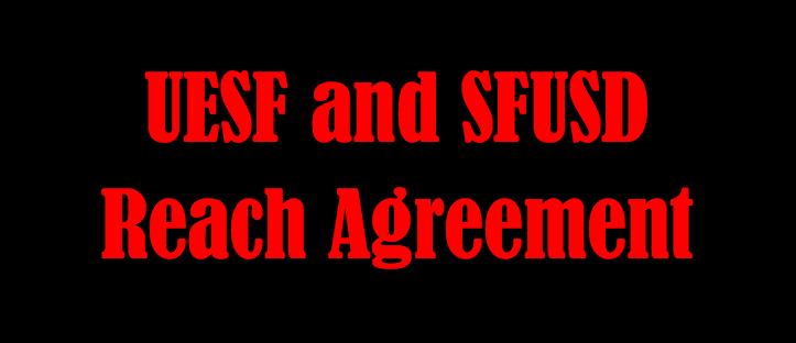 United Educators Of San Francisco Uesf Solidarity Compels Sfusd To